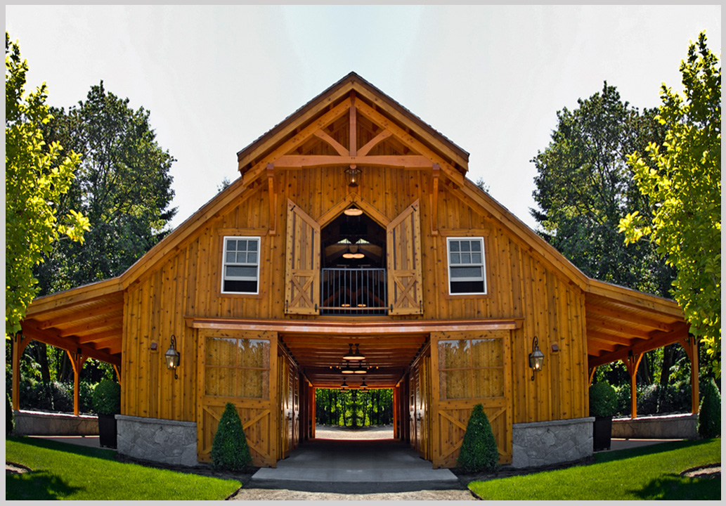 Pole barn plans for Steel barn home kits